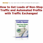 How to use Traffic Exchanges.